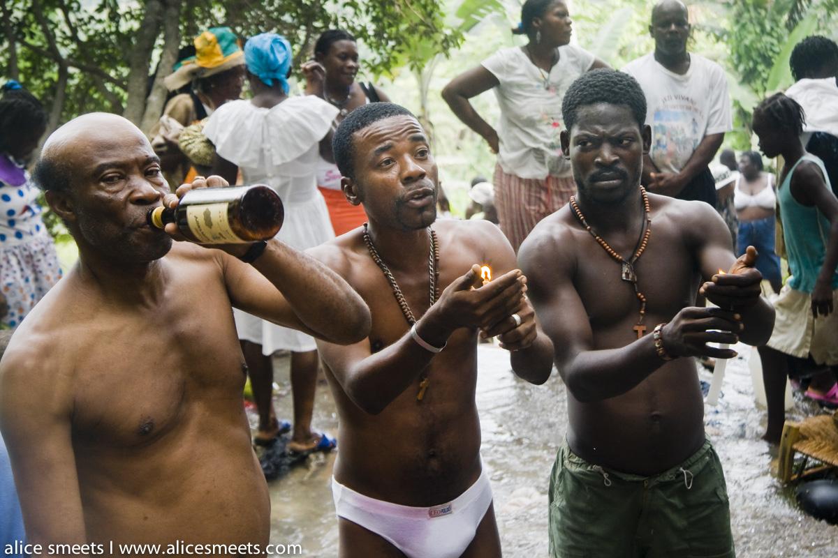 About haitian men